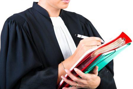 Robe d'avocate