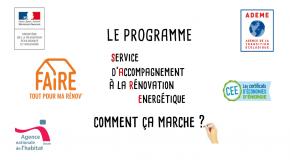 PRÉSENTATION DU SERVICE D'ACCOMPAGNEMENT À LA RÉNOVATION ÉNERGÉTIQUE