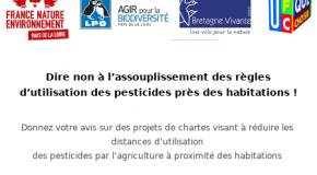 Dire non à l'assouplissement des règles d'utilisation des pesticides près des habitations !