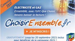 Nouvelle campagne « Énergie moins chère ensemble » : Inscription des consommateurs du 14 juin au 20 septembre 2021